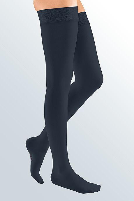mediven elegance compression stockings veanous treatment navy