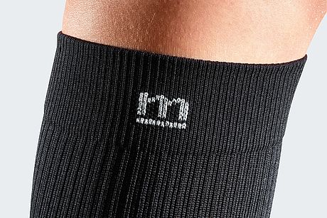 band black compression stocking for men sporty