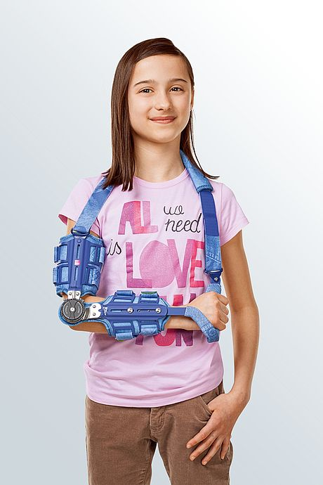 stabel knee orthosis immobilize for children